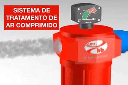 video como funciona o tratamento de ar comprimido